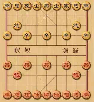 我最喜欢的游戏:中国象棋!